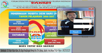 APLIKASI PPDB TERBARU 2016-2017 FOPPSI KAB.GARUT
