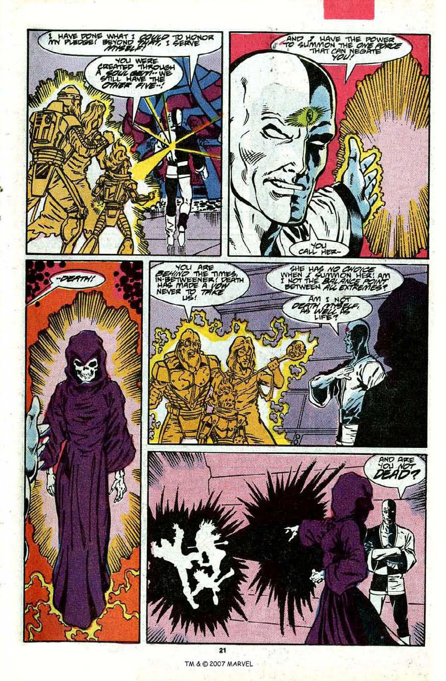 Read online Silver Surfer (1987) comic -  Issue #17 - 23