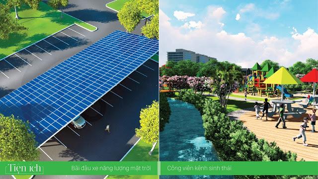 LakeSide Palace kết hợp không gian sinh thái với công nghệ hiện đại