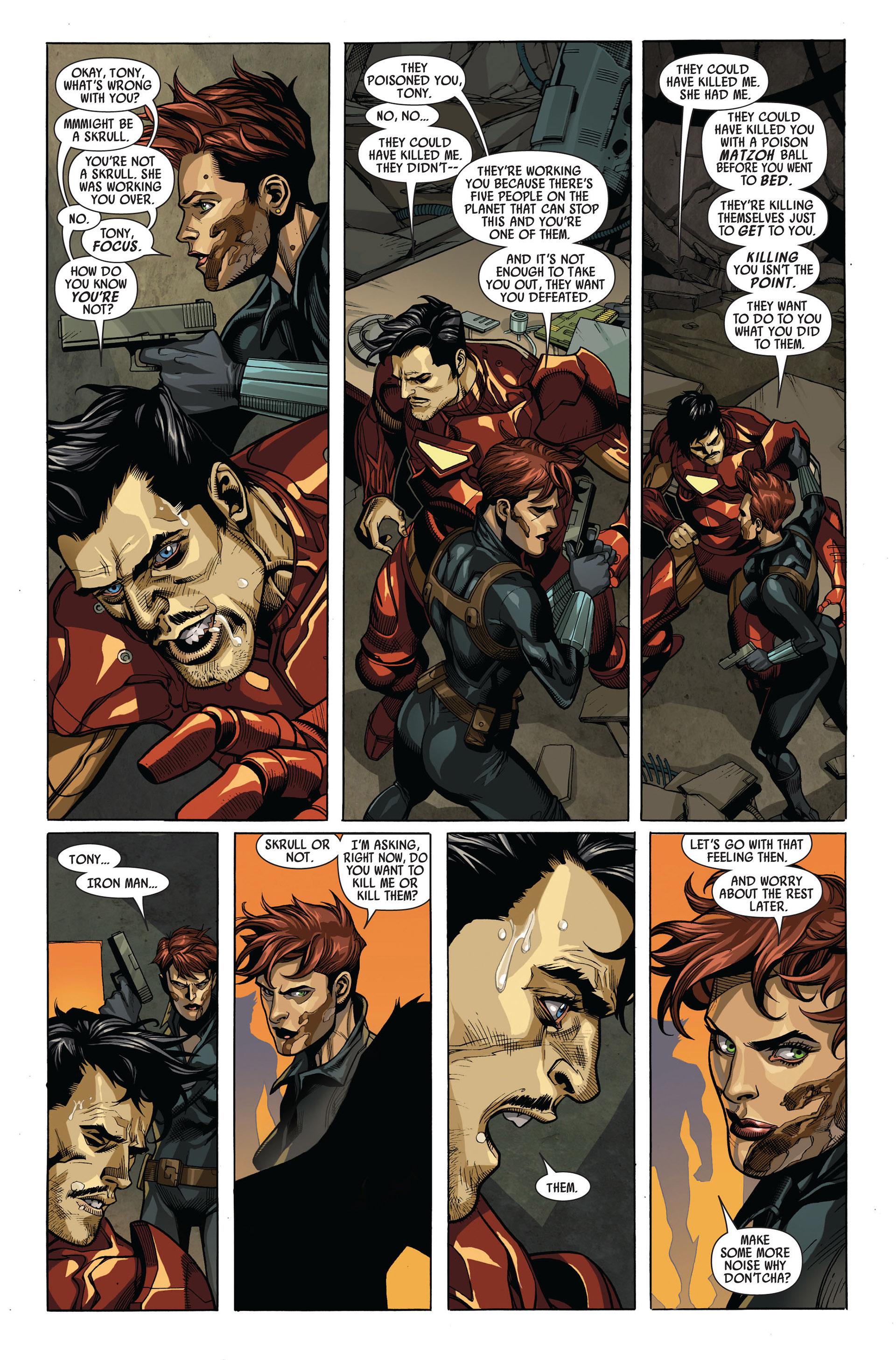 Read online Secret Invasion comic -  Issue #4 - 14