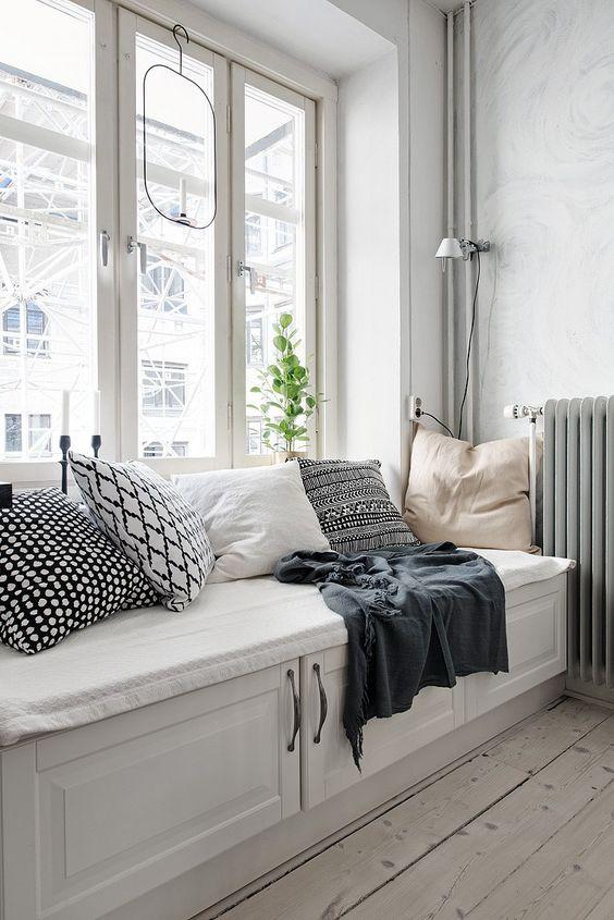 Formas geométricas en textiles para decorar tu hogar