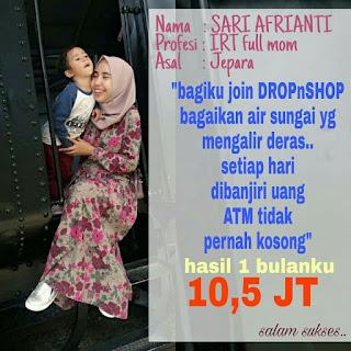 Bisnis online dropnshop di buka di Jakarta hub 0813.2666.3434