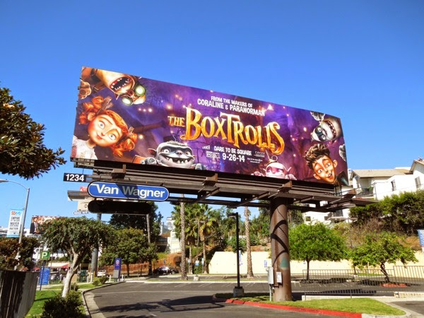 Boxtrolls movie billboard
