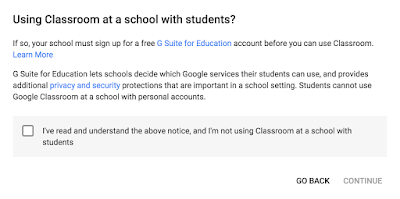 Terms Using Google Classroom™