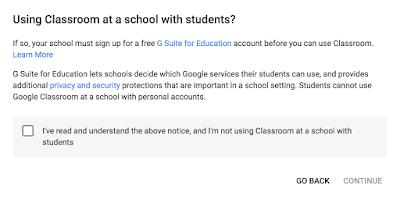 Terms Using Google Classroom™