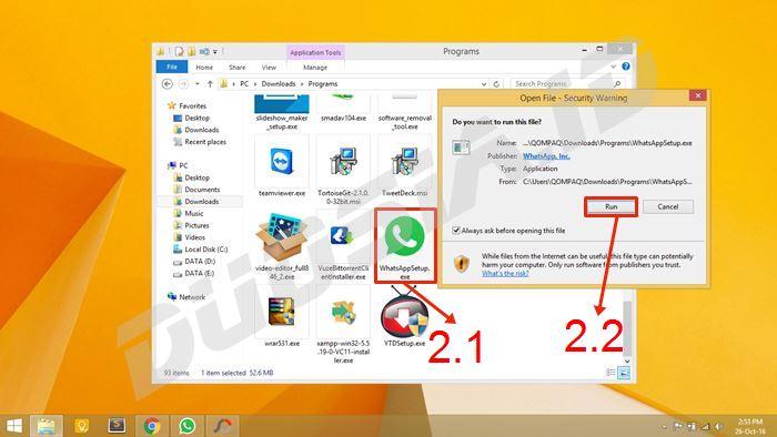 Download aplikasi whatsapp untuk pc tanpa bluestacks