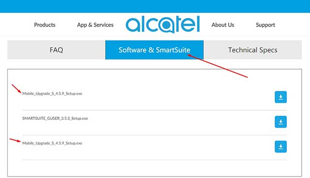 Download Alcatel USB Drivers For All Models