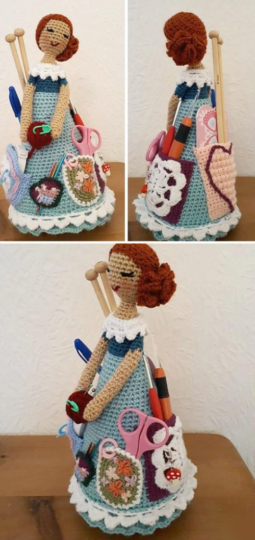 Weebee Sally Doll Caddy - Free Pattern