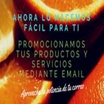 Promocionamos tus productos o servicios correo electronico