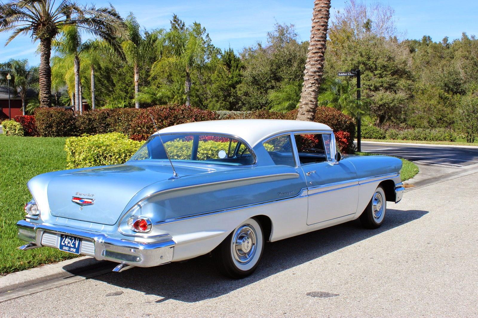 Rambler Home All American Classic Cars 1958 Chevrolet Biscayne 2 Door