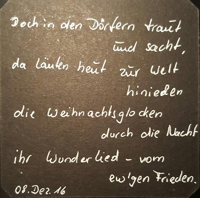 Weihnachtsglocken Gedicht von Karl Stieler 1842-1885