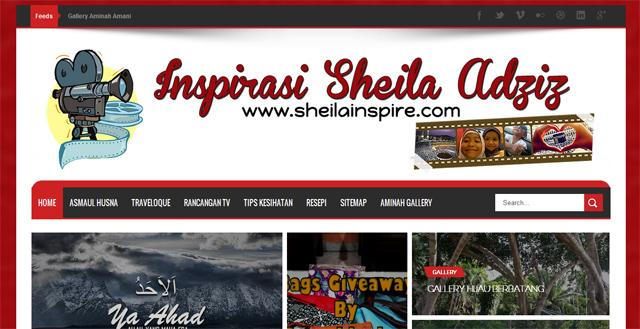 Inspirasi Sheila Adziz