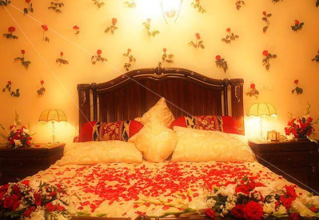 BridaL Bed Decoration   Dulha  Dulhan
