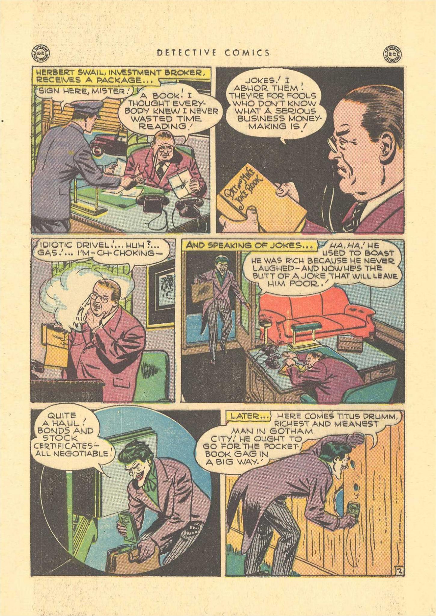 Read online Detective Comics (1937) comic -  Issue #109 - 4