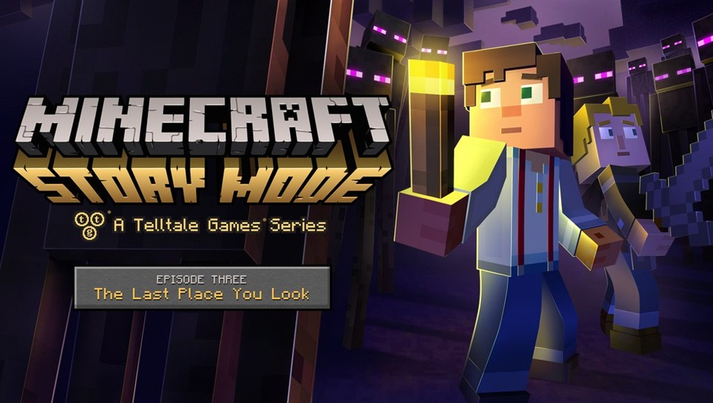 Minecraft Story Mode Download Episode 3 Poster