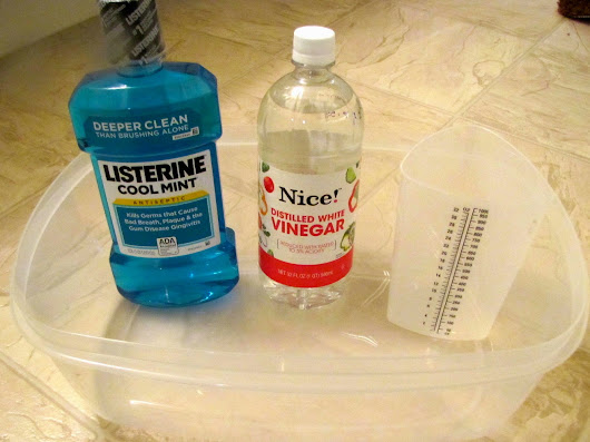 Listerine & Vinegar Foot Soak....Use It or Lose it?