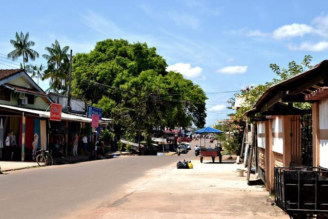Guyane, Brésil, Oiapoque, Oyapock