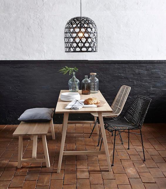 salle à manger minimaliste
