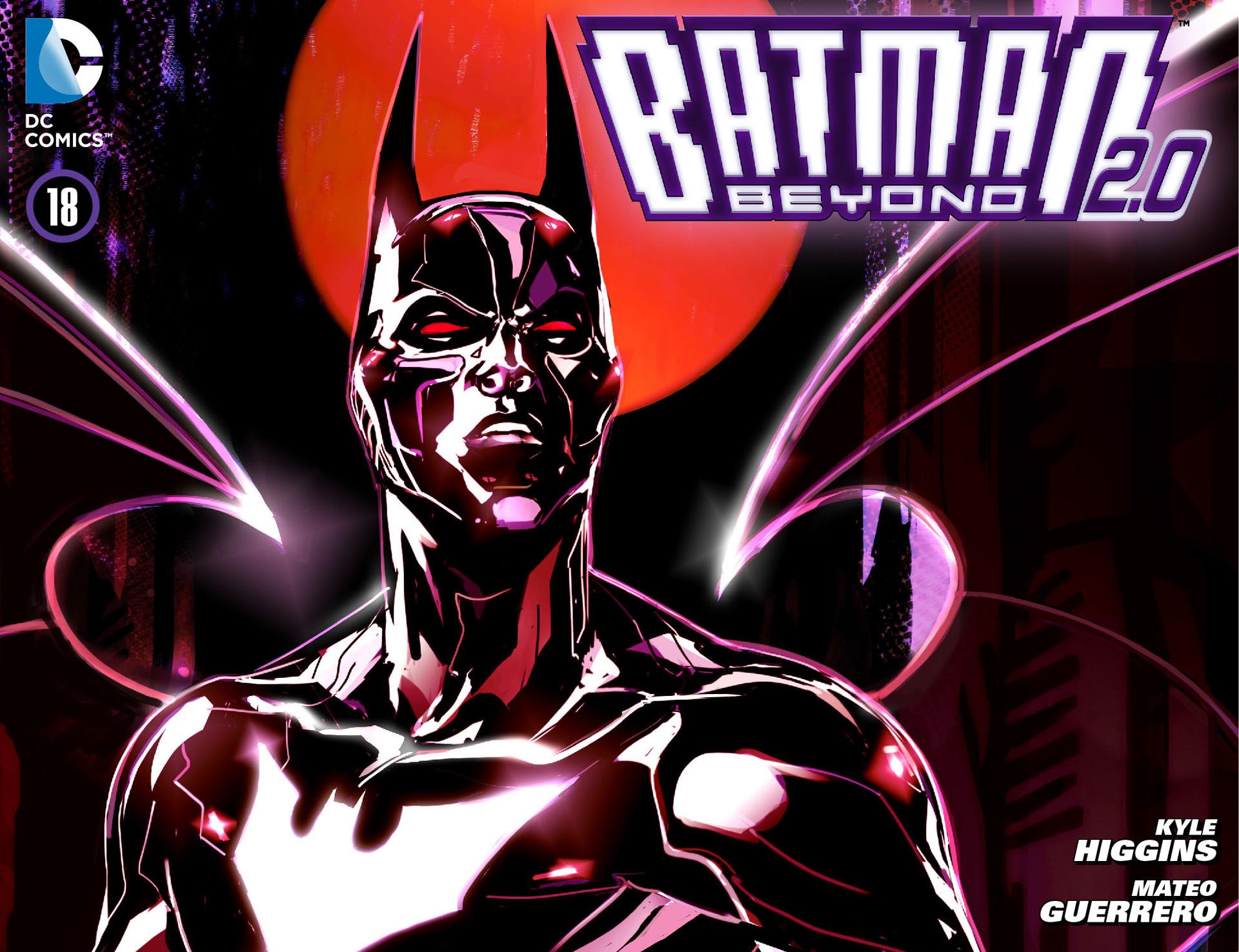 Batman Beyond 2.0 18 Page 1