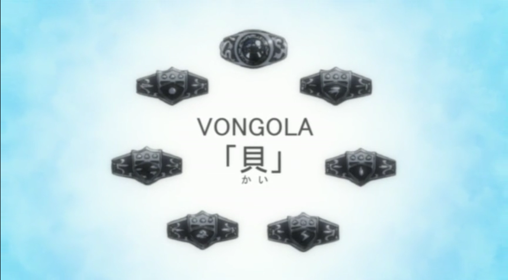 anime hitman reborn vongola rings