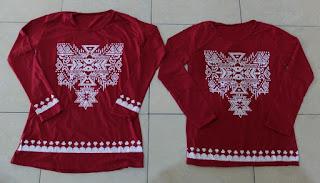 Jual Online Snow Red Murah Jakarta Bahan Spandex Stretch Terbaru