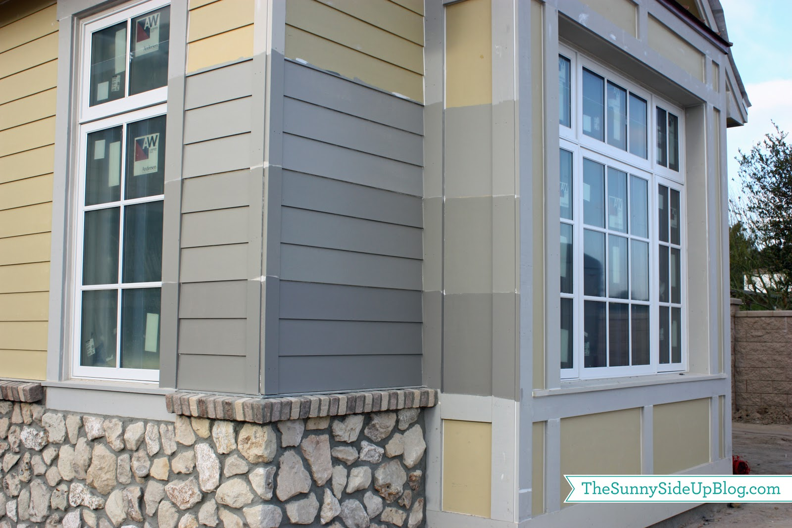 House update the latest the sunny side up blog - Test exterior paint colors online ...