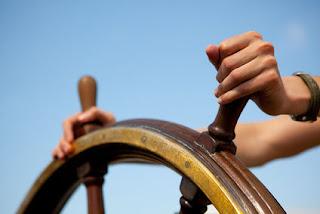Gemi eski tip dümen resmi