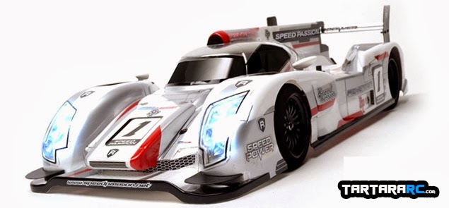 Speed Passion LM-F LeMans car