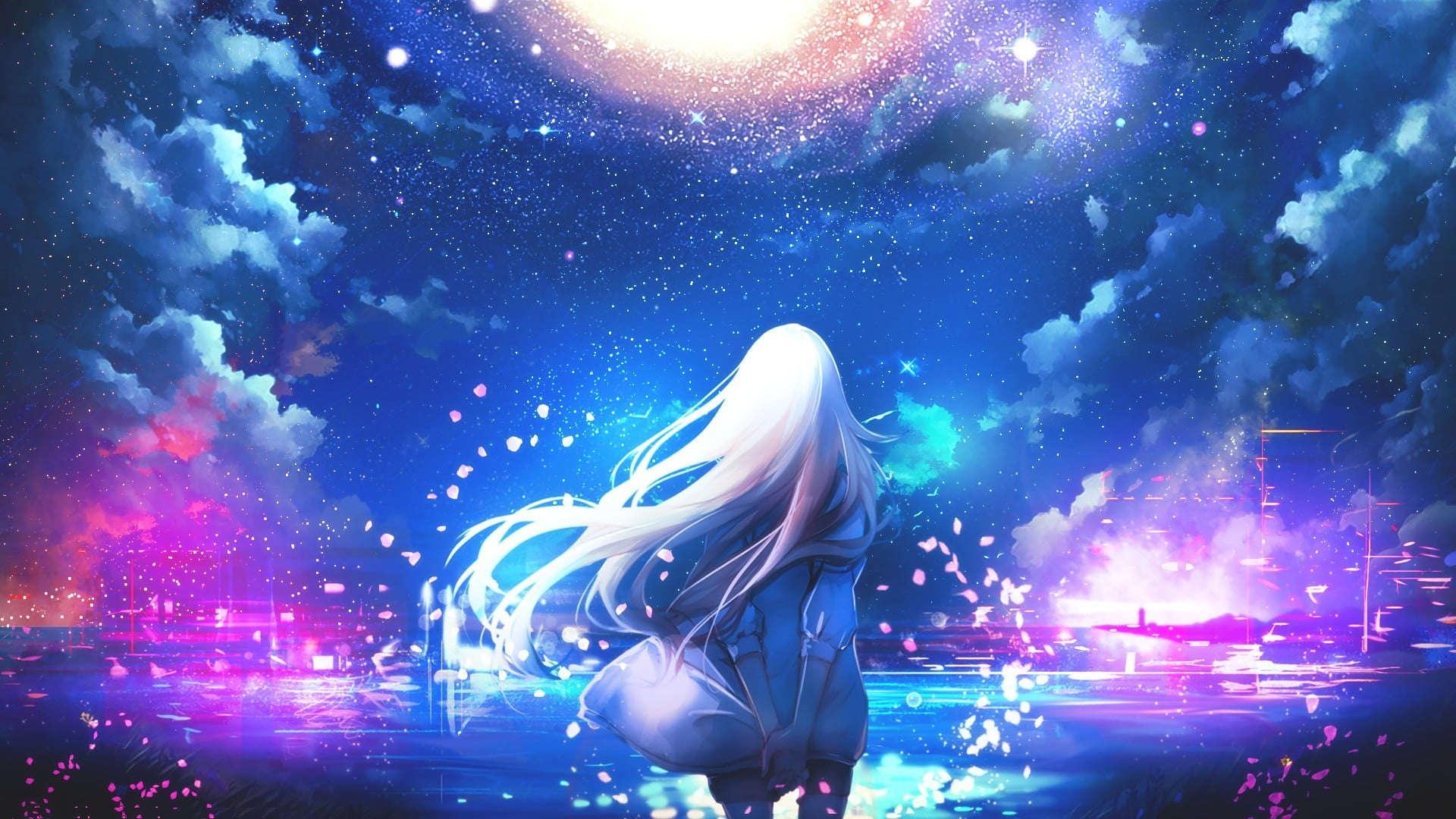 Wallpaper keren pc anime girl