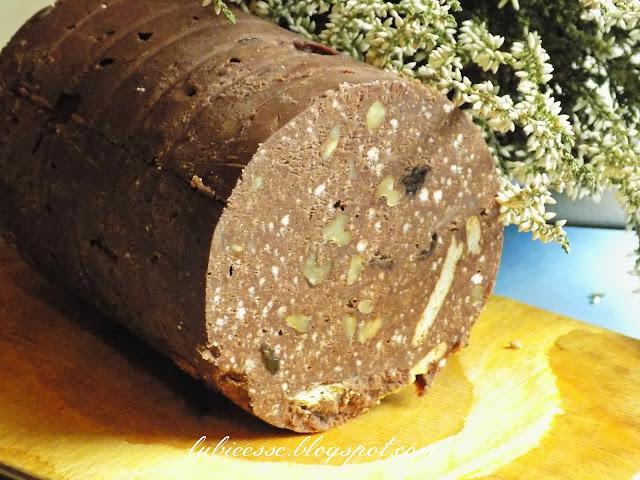 blok czekoladowy z mleka w proszku, ciasto blok czekoladowy, blok czekoladowy z bakaliami,