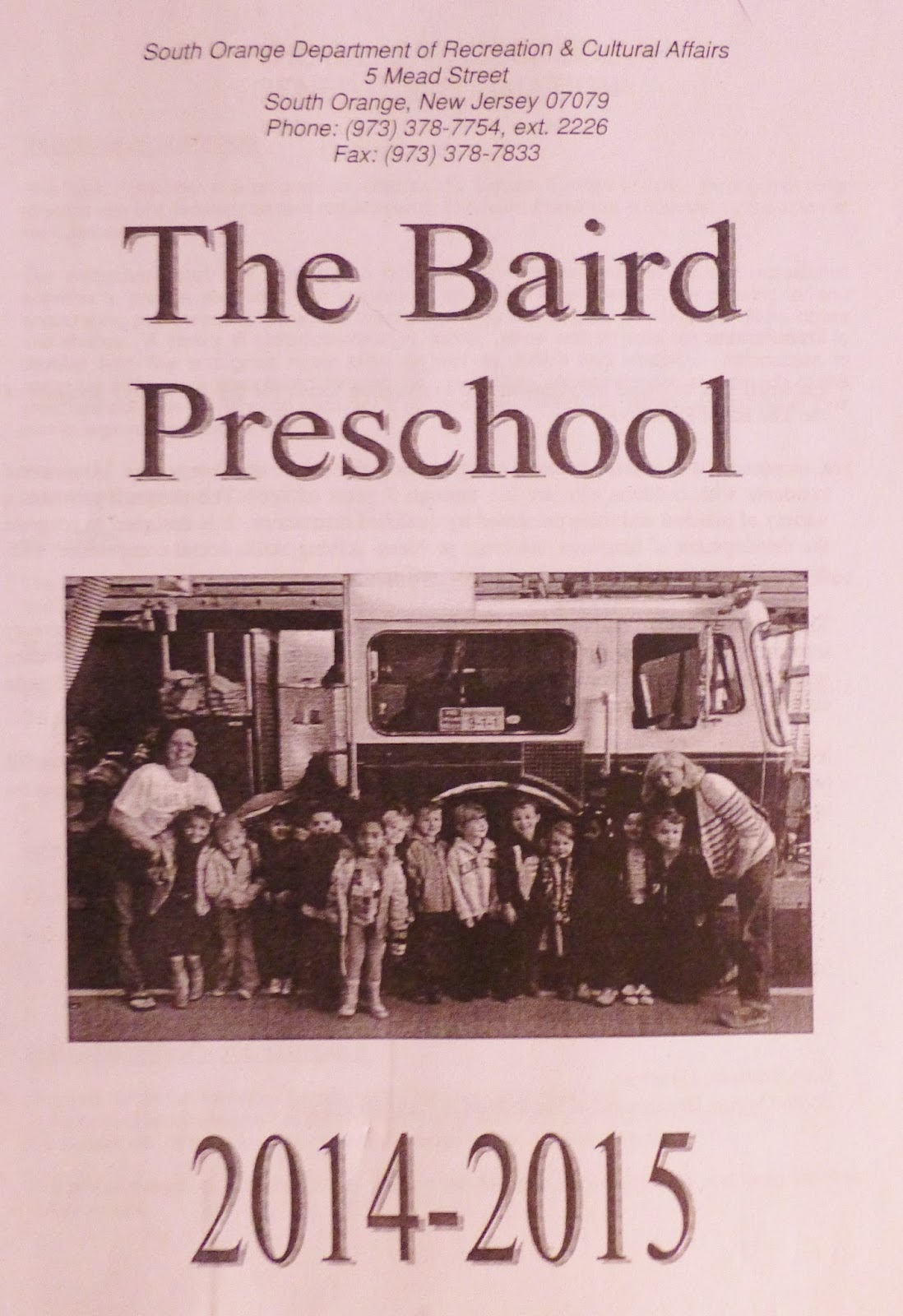 Blog: A Guide to Preschool for Maplewood & South Orange