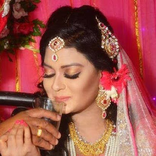 Shampa Hasnine Bangladeshi Actress Wedding