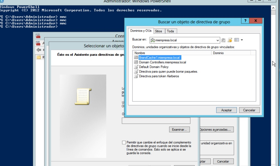 Como instalar BranchCache, Windows Update Services, IIS