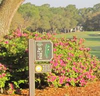picture of the Oak Island Golf Course in Brunswick County NC