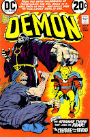 Demon v1 #4 dc bronze age comic book cover art by Jack Kirby