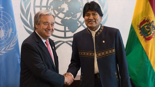 Morales en la ONU: El capitalismo amenaza los océanos