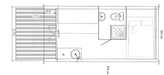 case prefabbricate in legno Megapod 570