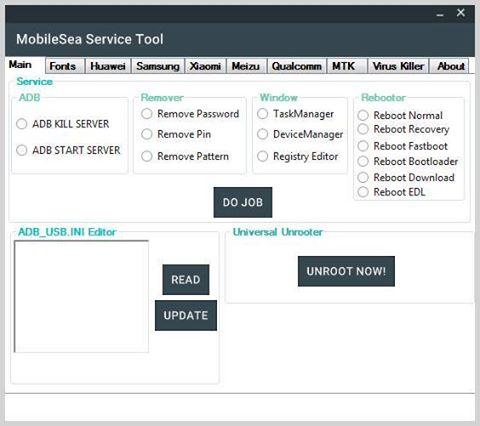 برنامج MobileSea Service Tool الرهيب سارع بالتحميل وتعرف على مزاياه ..حصرياا