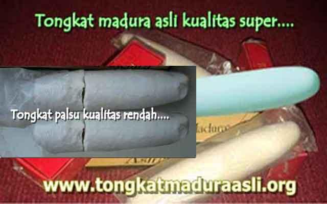 Cara membedakan tongkat madura asli dan palsu
