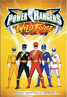 DVD Review - Power Rangers Wild Force: The Complete Series