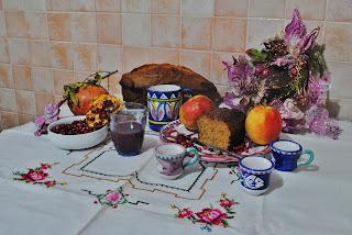 Coccoliamoci con una bella colazione. Ieri ho dedicato la mattinata a  preparare succo di melograno ... 4929f6d621d
