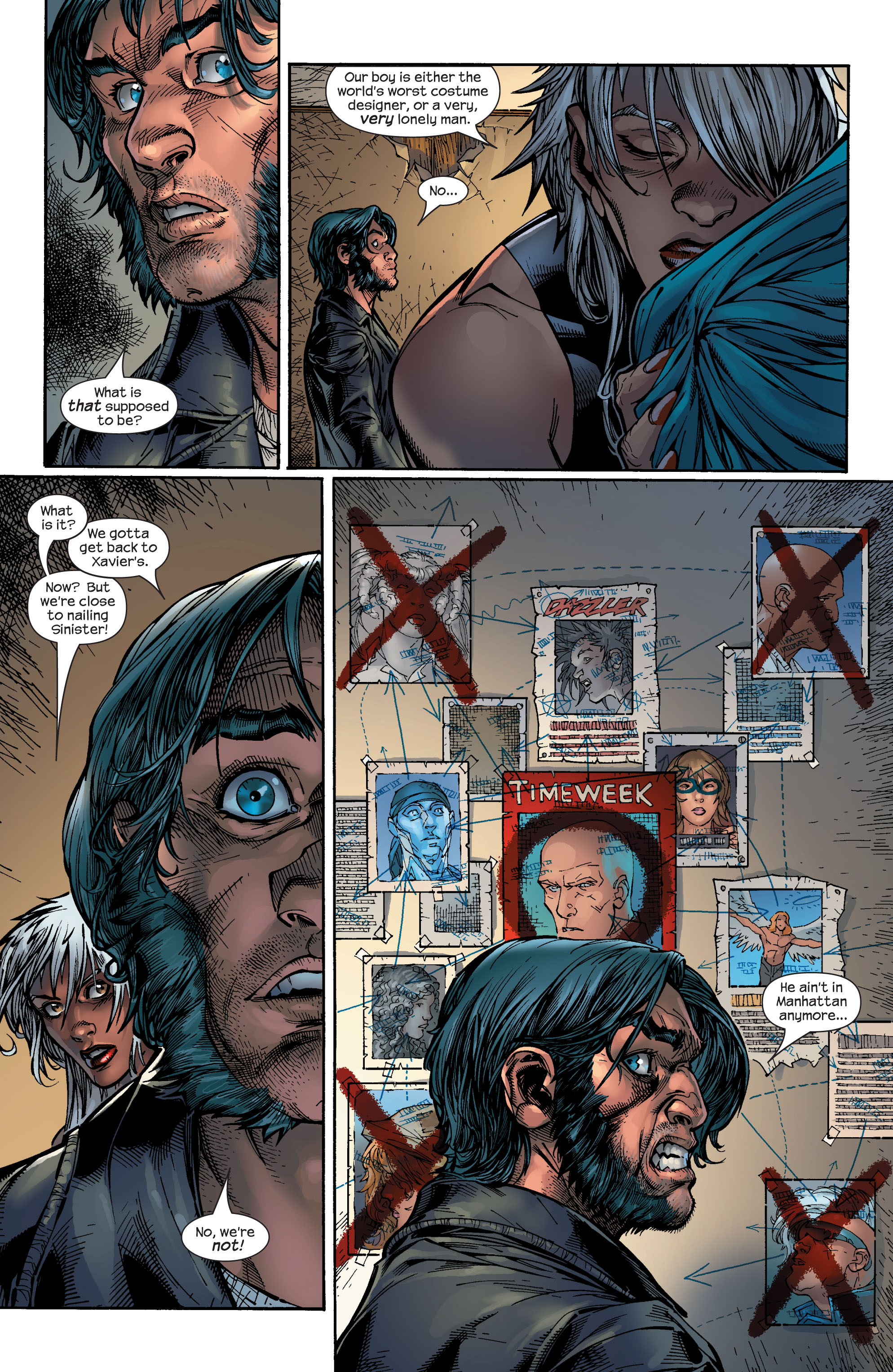 Read online Ultimate X-Men comic -  Issue #48 - 23