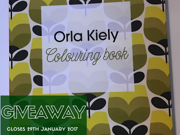 Giveaway: Orla Kiely Colouring Book