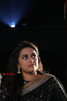 Actress Sri Divya Latest Pos in Black Saree at Sangili Bungili Kathava Thora Tamil Movie Audio Launch  0014.jpg