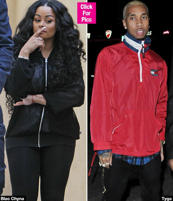 Blac Chyna Goes Off On Tyga Over Child Support In Wild Snapchat Rant: 'You're A B***'