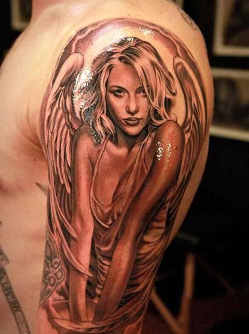 erkek omuz dövmeleri man shoulder tattoos 15