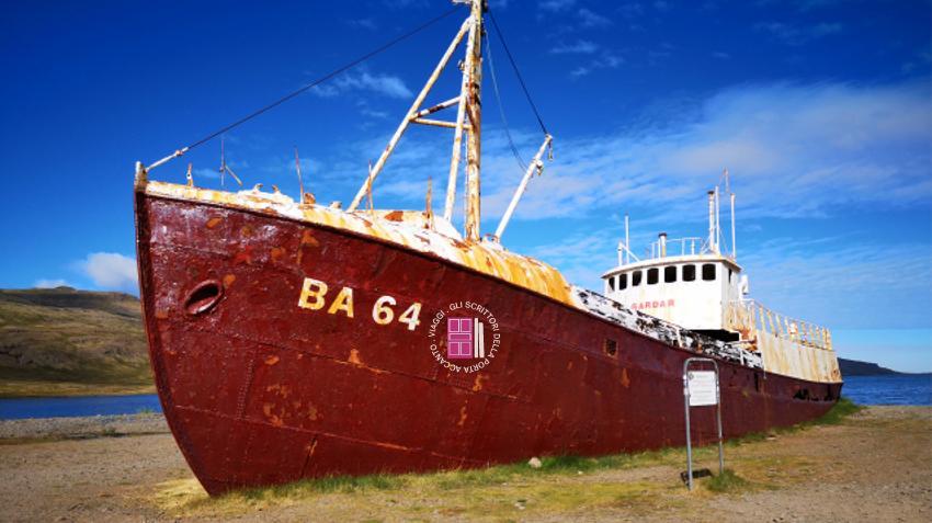 Gardar BA 64, la più antica baleniera d'acciaio d'Islanda