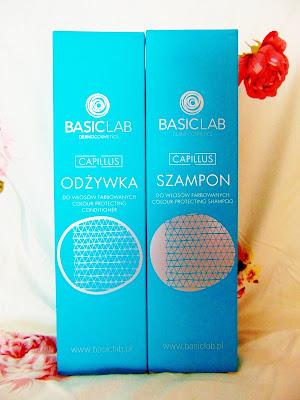 Szampon i odżywka do włosów farbwanych BasicLab