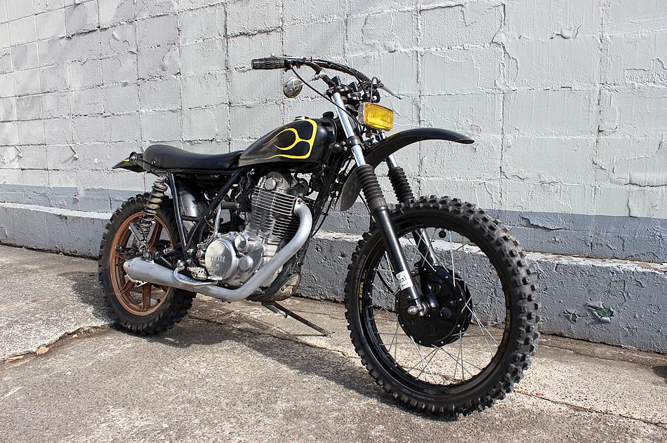 Yamaha SR 500 by BratStyle