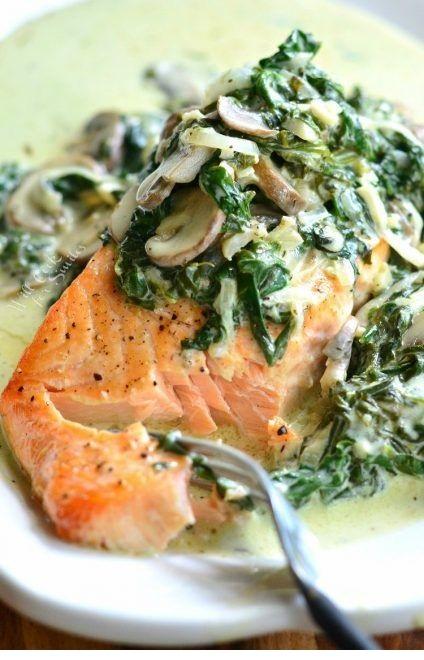 Salmon Florentine